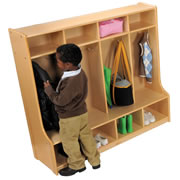 Carolina Line 4 Section Locker - Fully Assembled