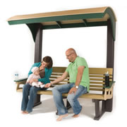 Ergo-Eco Bench with Roof