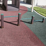 Infant Pull-Up Bars - In-ground