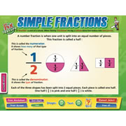 Simple Fractions Chart