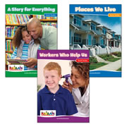 My World Big Book Set (Set of 3)