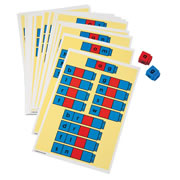 Grades K - 3. Designed to be used with the Unifix® CVC Letter Cubes. Students build vocabulary and spelling skills as they build words based upon common word-family endings with these colorful task cards. Set of 24 cards.