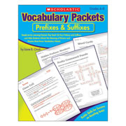 Vocabulary Packets - Prefixes & Suffixes