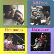 Spanish Family Board Books (Set of 4)