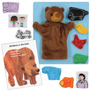 Brown Bear Story Set and Book