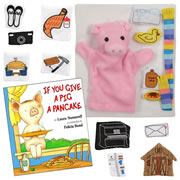 If You Give a Pig a Pancake Story Set and Book