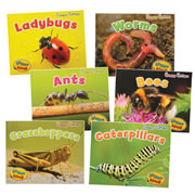 Creepy Critters Rhyme Along Book Set (Set of 6)