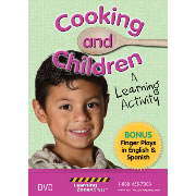 Cooking and Children...A Learning Activity DVD