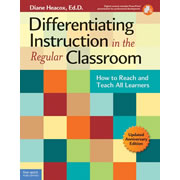 Differentiating Instruction in the Regular Classroom - Paperback