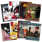 Fairy Tales in Multiple Formats: Little Red Riding Hood & Rapunzel (Set of 8)