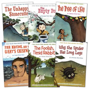 Folk Tales From Around The World (Set of 6) - Paperback