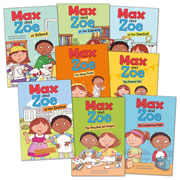 Max and Zoe Collection (Set of 8) - Paperback