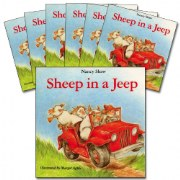 Sheep in a Jeep Big Book Read-Along Set (Set of 7)