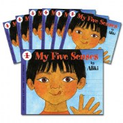 My Five Senses Big Book Read-Along Set (Set of 7)