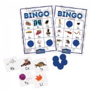 Kaplan Alphabet Bingo Learning Game