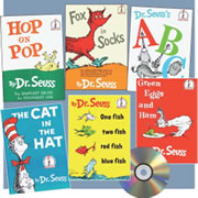 Dr. Seuss Book and CD Set (Set of 6)