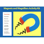 Magnets and Magnifiers Activity Cards