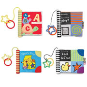 Baby's Discoveries Cloth Book Set (Set of 4)