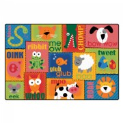 Animal Sounds Carpet (6' x 9')