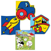 Let's Go Vinyl Book Set (Set of 4)