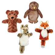 Woodland Creatures Puppet Set