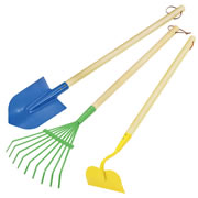 Child Size Garden Tools (Set of 3)