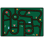 "Go-Go Driving Rug - 3' x 4'6"" (Factory Second)"