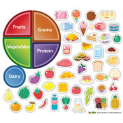 Nutrition Magnetic Wall Sticker Set