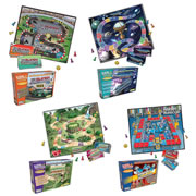 Reading Comprehension Board Games - Grades 4-5 (Set of 4)