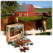 On The Farm Floor Puzzle (24 Pieces)