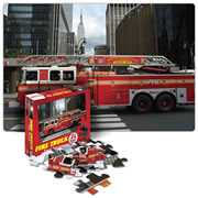 Fire Truck Floor Puzzle 24 Pieces