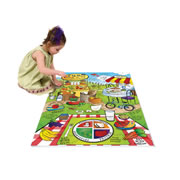Land of Nutrition Activity Floor Puzzle