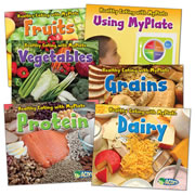 Healthy Eating with MyPlate Book Set (Set of 6)
