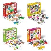 Spanish & Bilingual Floor Puzzles (Set of 4)