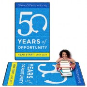 Head Start 50th Anniversary Carpets