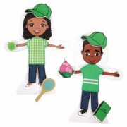 Snapdolls African American (Set of 2)