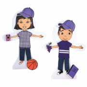 Snapdolls Asian (Set of 2)