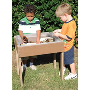 Discovery Recycled Table with Bin