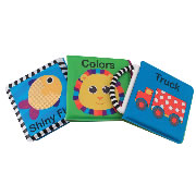 Bold and Bright Vinyl Books (Set of 3)