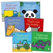 Touchy-Feely Board Book Set (Set of 6)