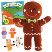 The Gingerbread Man Puppet and Story Set