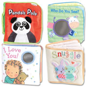 Engaging Cloth Book Set (Set of 4)