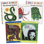 Eric Carle Lap Board Book Set (Set of 5)