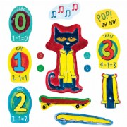 Four Groovy Buttons Felt Set - 14 Piece Set