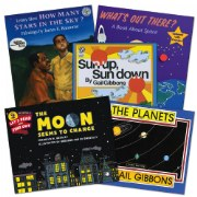 Space Theme Books - Set of 5