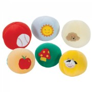 Soft-Color Ball Set of 6
