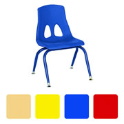 "Profile Stack 15 1/2"" Chair - Blue"