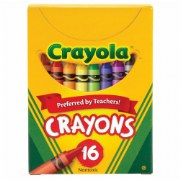 Crayola® 16-Count Crayons - Standard (Single Box)