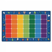 "Fun with Phonics Carpet Rectangle 8'4"" x 13'4"""