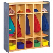 Nature Color Preschool Coat Locker